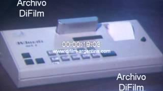 DiFilm - Expendedora de boletos para Ferrocarriles Argentinos 1980