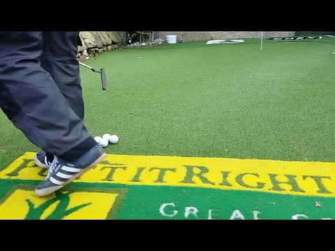 Home putting green by Putt It Right Limited