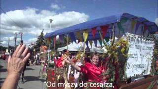 Dożynki województwa śląskiego. Ciasna 2011