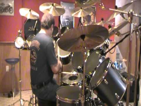 Bad To The Bone Drum Cover - YouTube