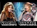 Taylor Swift VS Selena Gomez (Live Vocal Battle)