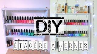 DIY | étagère à vernis pour 0€ !!! RAPIDE