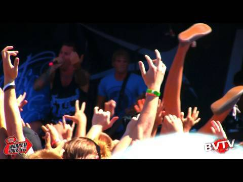 Parkway Drive - Full Set! Live in HD at Warped Tour 2010
