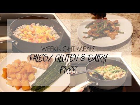 Weeknight Meals | 1- Paleo/Gluten & Dairy Free