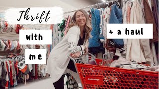 Come Thrifting With Me!! + a haul!