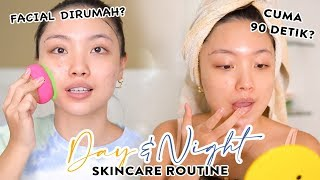 Current AM & PM Skincare Routine Combination Skin 😊 - Acne Prone & Sensitive Skin, REVIEW FOREO UFO