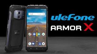 Smartphone siêu bền: Ulefone Armor X, có sạc không dây, màn hình 18:9