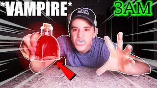 (Insane) Ordering VAMPlRE Potion from the DARK WEB at 3AM Challenge! (Vampire Challenge)