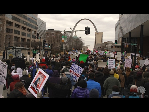 Saint Louis Protest Against Muslim Ban and Anti-Immigration Orders | CAIR-Missouri