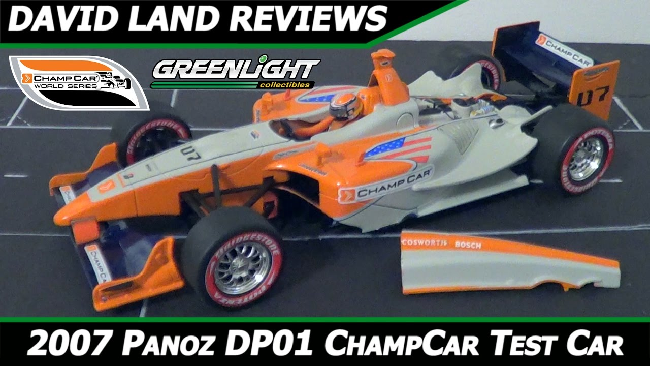 2007 Greenlight 1/18 Panoz DP01 Champ Car World Series Test Car HD ...