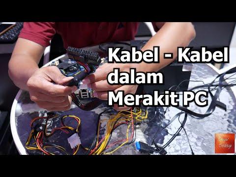 Mengenal Kabel Kabel Dalam Merakit PC