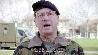 Message vidéo du chef de commandement, commandant de corps Aldo Schellenberg