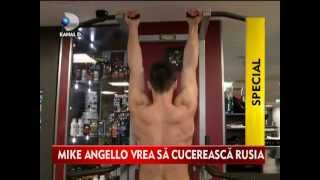 Mike Angello at the Gym @ Kanal D TV