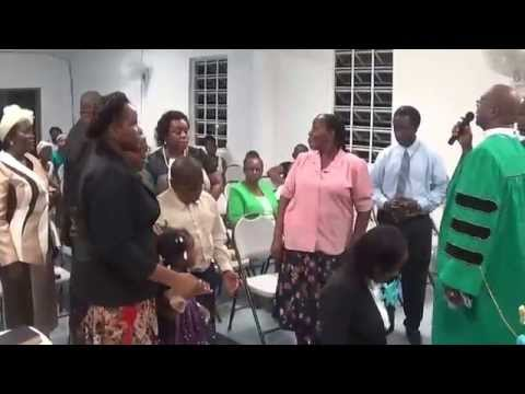 Senior Pastor Installation Service   The Charge