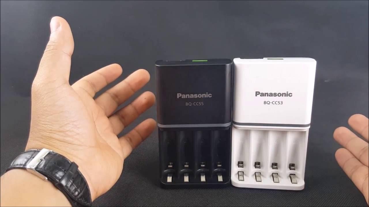 Trên tay hai bộ sạc 4 khe mới nhất của Panasonic