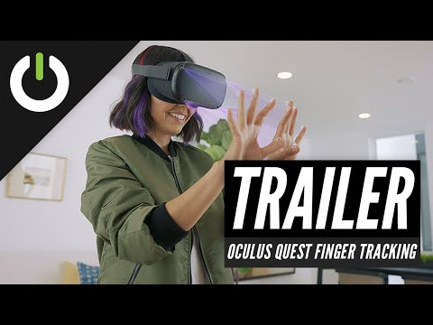 Oculus Quest Is Getting Camera-Based Finger Tracking