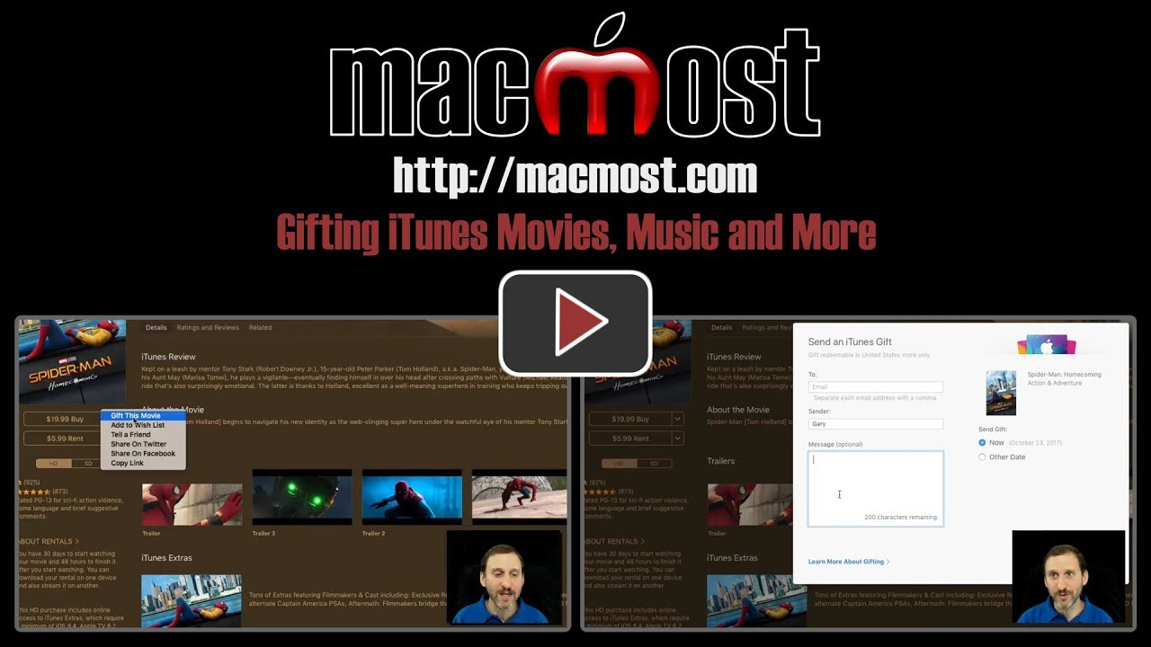 gifting itunes movies music and more 1517 youtube