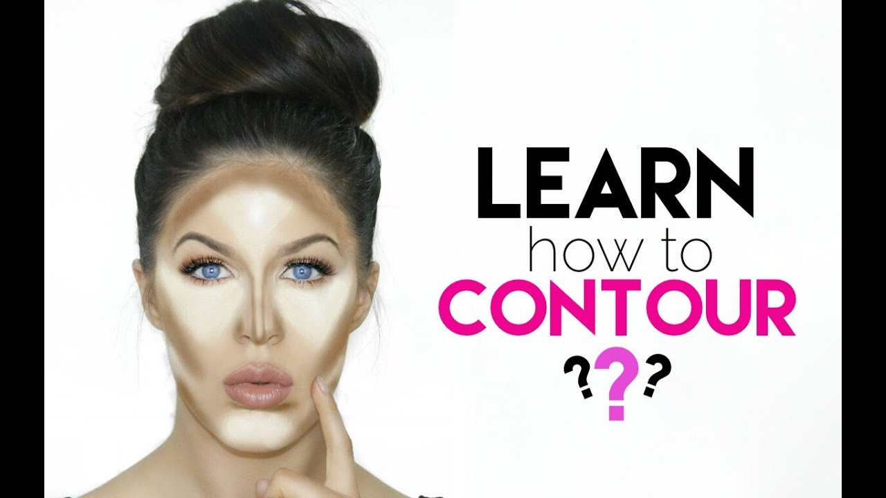 How To Contour For Beginners!!  Youtube