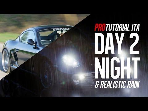 Photoshop tutorial: Dal giorno alla notte con pioggia realistica - Day to Night