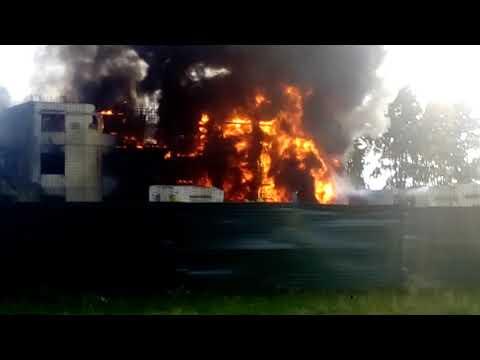 полысаево пожар кемеровская обл