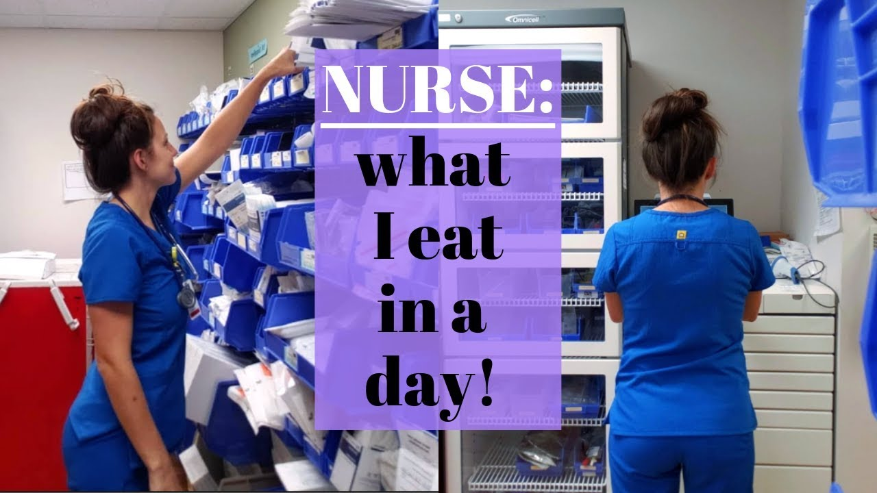 Download Nurse: what I eat in a day!