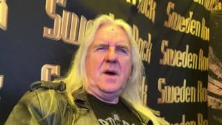 Saxon / Biff Byford interview at Sweden Rock 2017