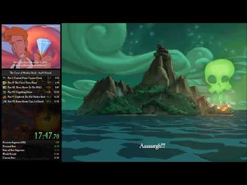 The Curse of Monkey Island Any% Normal Speedrun in 17:47 [WR] |