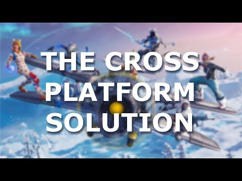 """Fortnite - """"Enable Cross Platform Parties"""" Doesn't Show up in Settings - Solved"""