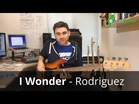 I Wonder - Rodriguez - Bass Guitar Lesson (Bob Babbitt)