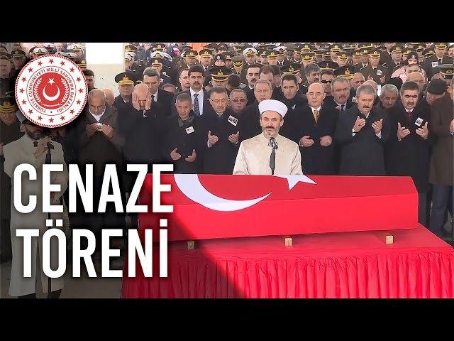 Bakan Akar, Şehit Toptaş ve Emekli General Büyükçulha'nın Cenaze Törenine Katıldı