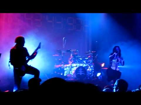 Lacuna Coil - Tight Rope - Live @ Effenaar 07-02-2010