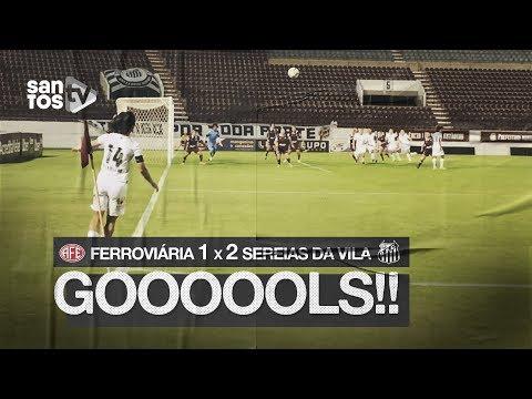 FERROVIÁRIA 1 X 2 SEREIAS DA VILA | GOLS | BRASILEIRÃO (14/08/19)