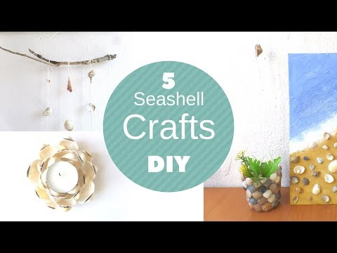 diy-seashell-crafts-beach-decorations-shell-craft-ideas-art-painting-and-jewelry-by-fluffy-hedgehog