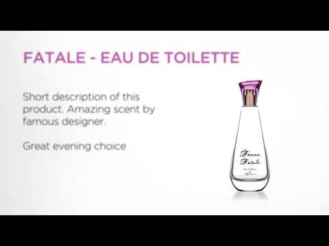 Product promotional video for marketing - perfume/cosmetics (s1)