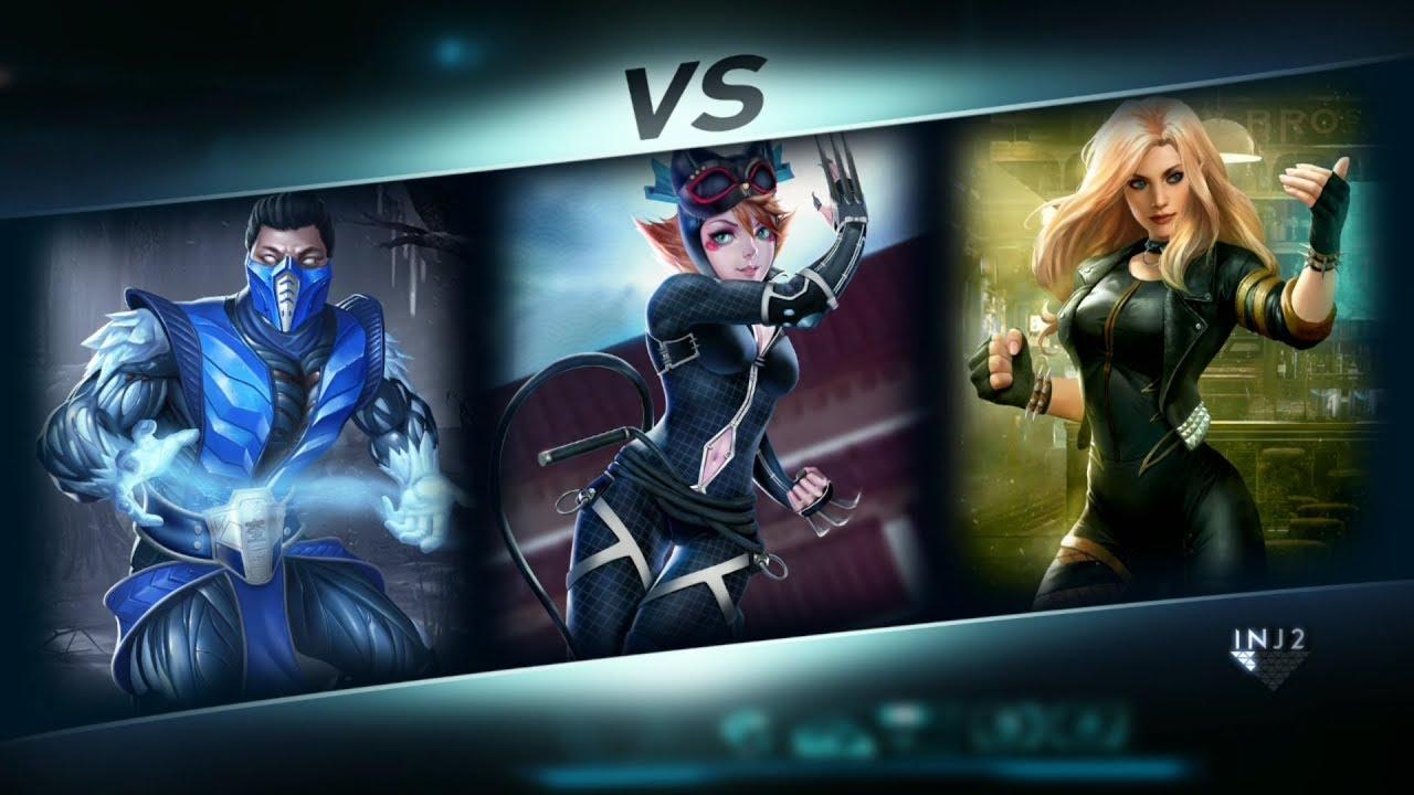 Injustice 2 Mobile Arena Batman Ninja Catwoman Gameplay Part 1 Youtube