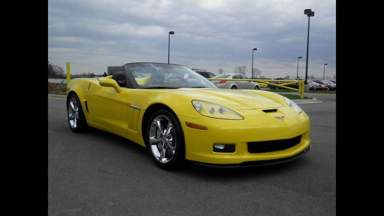sold.2010 CHEVROLET CORVETTE GRAND SPORT CONVERTIBLE ...