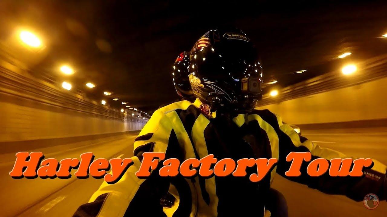 Going to Harley Davidson Factory Tour in Menomonee Falls Wisconsin