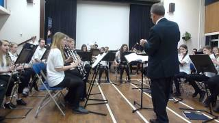 Richmond Youth Concert Band play Mambo Greats (arr. Stephen Bulla)
