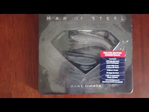 Man of Steel Limited Deluxe Edition Soundtrack Unboxing