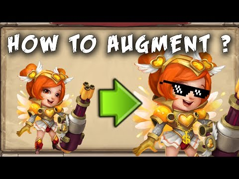 Castle Clash : How To Augment A Hero And How To Upgrade Equipment? Traits, Aetherocks,Oath Tablet