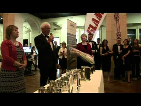 J80 WORLD CHAMPIONSHIP 2012 PRIZE GIVING AT THE ROYAL NAVAL COLLEGE DARTMOUTH UK,