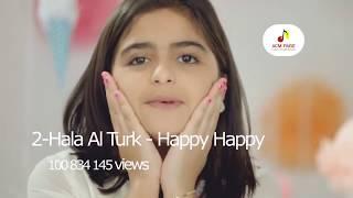 Топ 10 красивых арабских клипов песен/ восточная музыка 2017 клипы