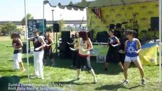 Zumba Demo Encore - Adobo Festival, August 24, 2014