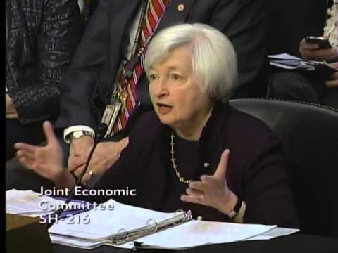 JEC Chairman Kevin Brady questions Fed Chair Janet Yellen at Economic Outlook hearing