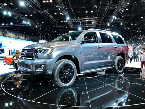 2018 toyota sequoia limited. wonderful limited 2018 toyota sequoia u2013 redline first look 2017 chicago auto show throughout toyota sequoia limited a