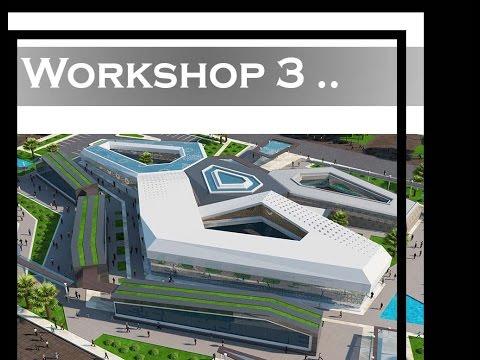 Workshop Architecture - Modern Arabic Composition - Lesson No. 3
