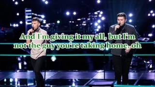 Download Hunter Plake & Jack Cassidy - Dancing On My Own (The Voice Performance) - Lyrics MP3 song and Music Video