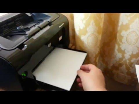 Как настроить принтер hp laserjet p1102