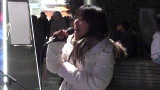 千晶 『ただ泣きたくなるの』カバー 2011.1125 @名古屋駅太閤通口