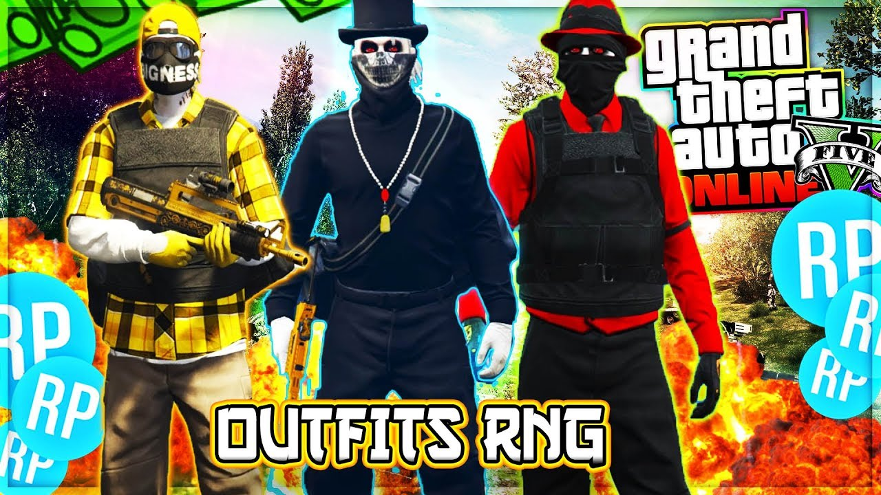 Gta 5 Online Rng Outfits
